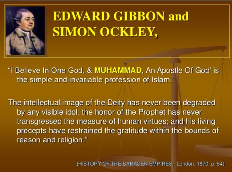 Edward Gibbon and Simon Ockley